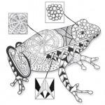 Что такое зентангл: рисунки и картинки зентангл