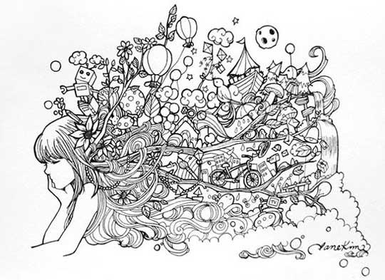 04.Дудлинг фото: картинки и рисунки дудлинг