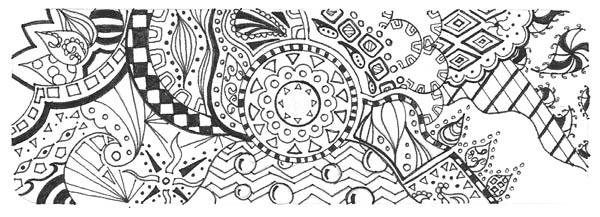 11.Дудлинг картинки для срисовки: рисунки дудлинг