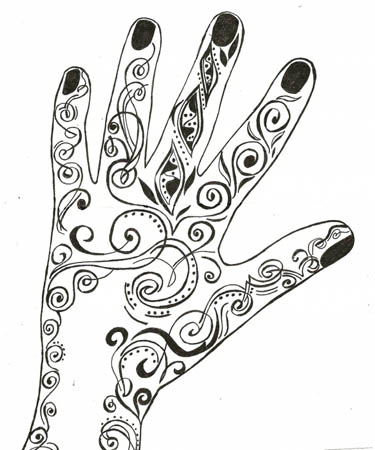 15.Дудлинг картинки для срисовки: рисунки дудлинг