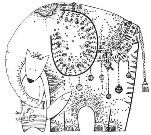 05.Дудлинг картинки для срисовки: рисунки дудлинг