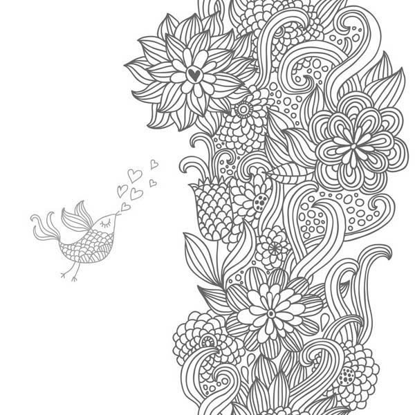 09.Дудлинг картинки для срисовки: рисунки дудлинг