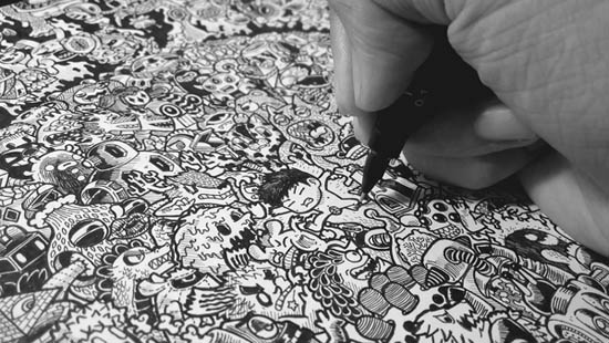02.Дудлинг техника рисования: все о стиле дудлинг