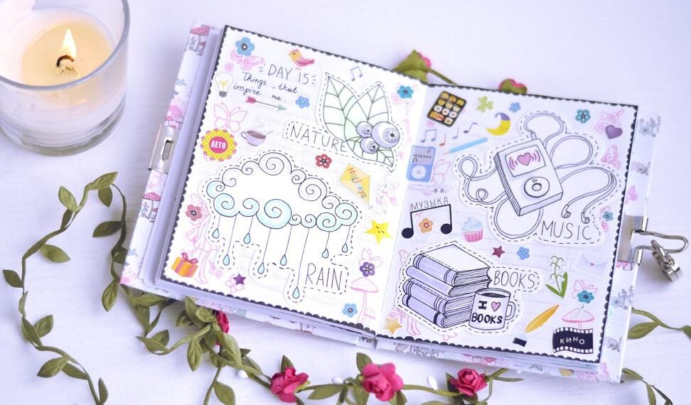 06.Идеи для лд фото: твой личный дневник