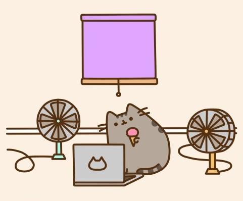 как нарисовать милого кот нка