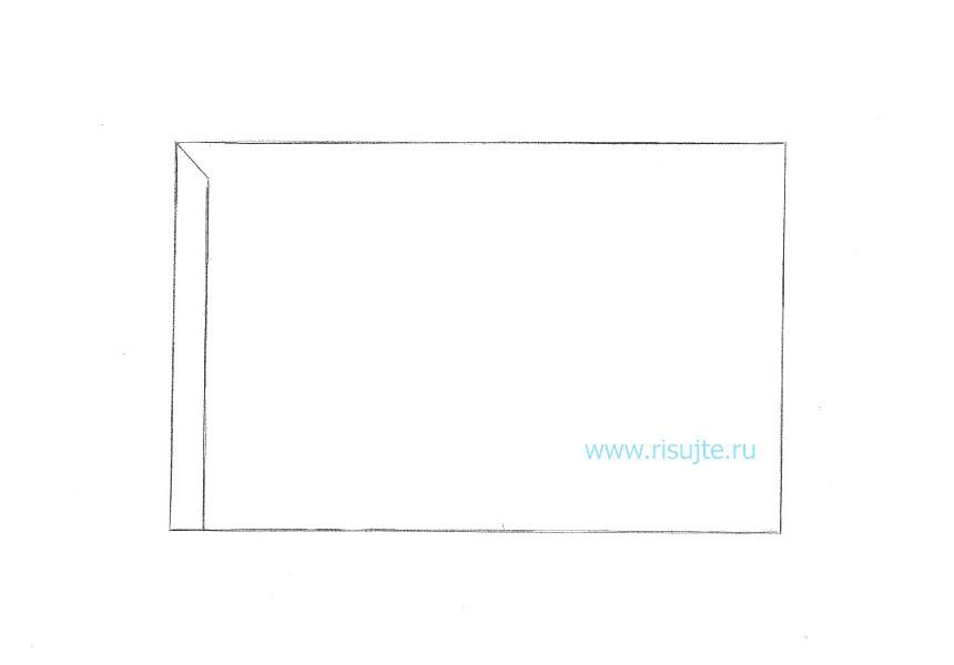 03.Как нарисовать 3d рисунок на бумаге