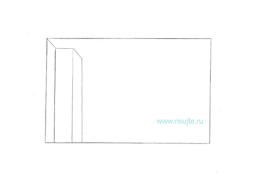 04.Как нарисовать 3d рисунок на бумаге
