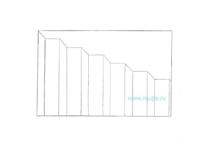 05.Как нарисовать 3d рисунок на бумаге