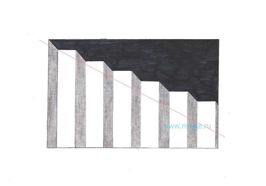 08.Как нарисовать 3d рисунок на бумаге