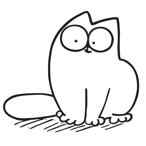 07.Картинки для лд черно белые: интересные рисунки