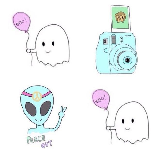 рисунки легкие картинки