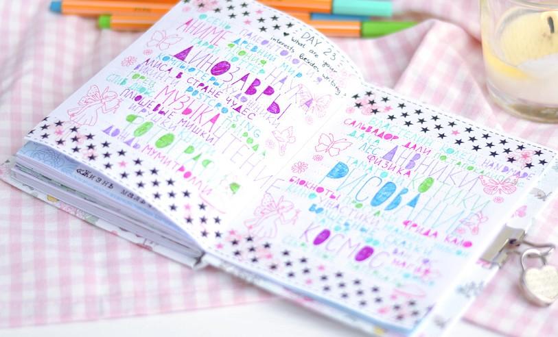Интерьер дневника