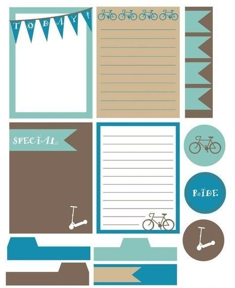 11.Распечатки для лд: идеи для личного дневника