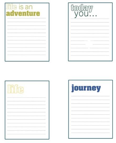 07.Распечатки для личного дневника: лучшие идеи