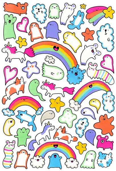 Картинки животных забавные для срисовки