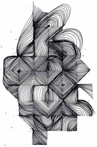 03.Зентангл картинки: рисунки в технике зентангл