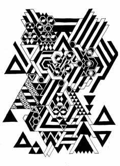 08.Зентангл картинки: рисунки в технике зентангл