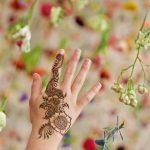 Рисунки мехенди на руке