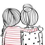 Срисовки для девочек лёгкие